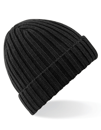 LSHOP Chunky Ribbed Beanie Black,Charcoal,Heather Grey,Moss Green,Orange Rust,Oxford Navy
