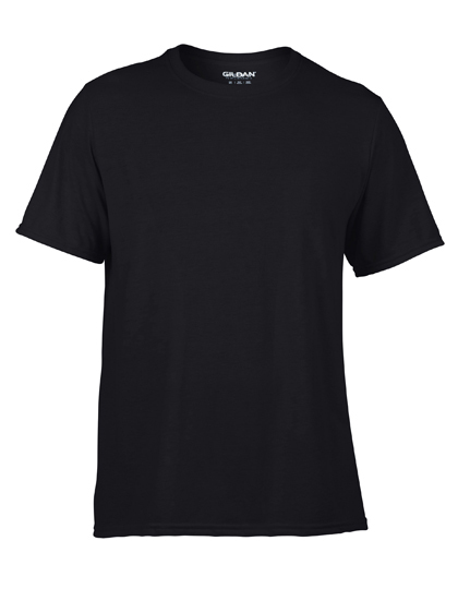 LSHOP Performance¨ Adult T-Shirt Black,Carolina Blue,Charcoal (Solid),Navy,Orange,Purple,Red,Royal,Safety Green,Sport Grey (Heather),White