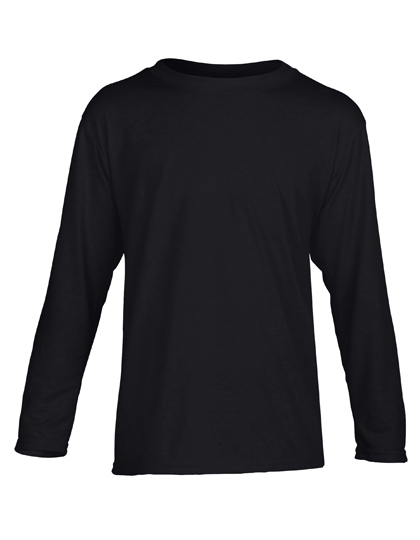 LSHOP Performance¨ Youth T-Shirt Long Sleeve Black,Navy,Red,Royal,Sport Grey (Heather),White