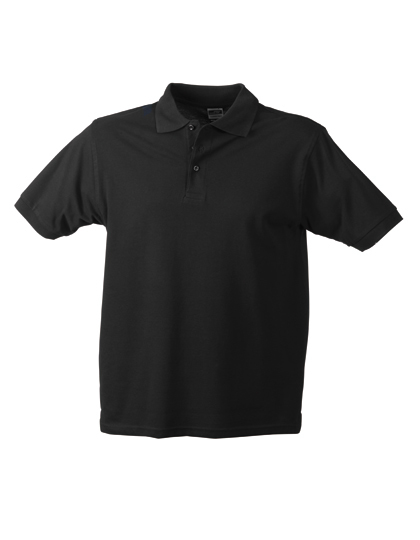 LSHOP Workwear Polo Men Black,Carbon,Dark Green,Grey Heather,Light Blue,Navy,Orange,Red,Royal,White