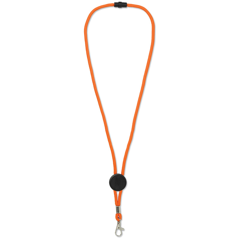 TOPPOINT Paracord Lanyard Orange