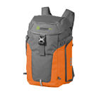 Orange grauer Outdoor Rucksack